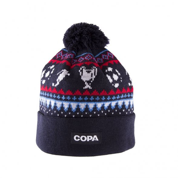 Nordic Knit - Navy Blue / Red / Blue / White
