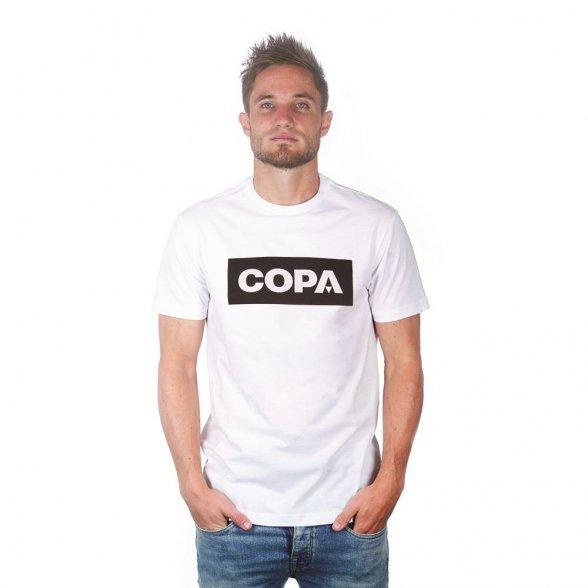 COPA Box Logo T-Shirt   White