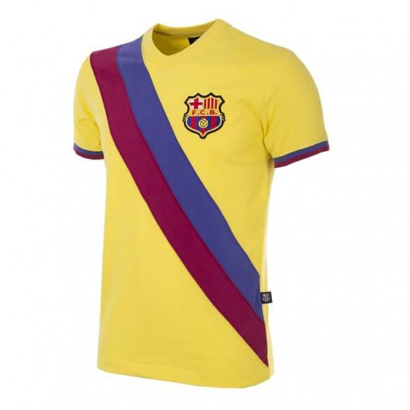 Maillot FC Barcelona 1978-79 extérieur