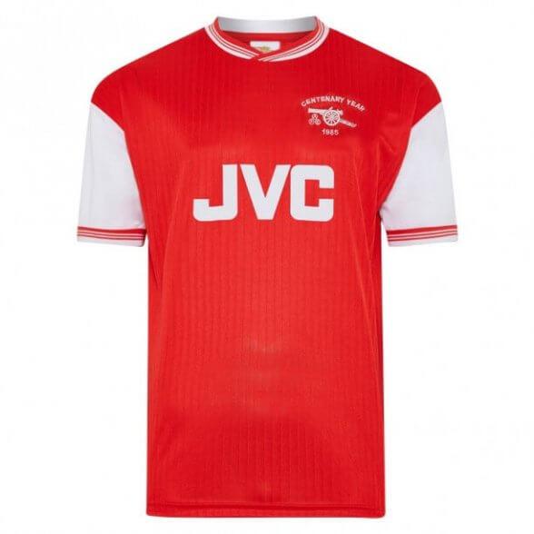 Maillot rétro Arsenal 1985-86 Centenaire