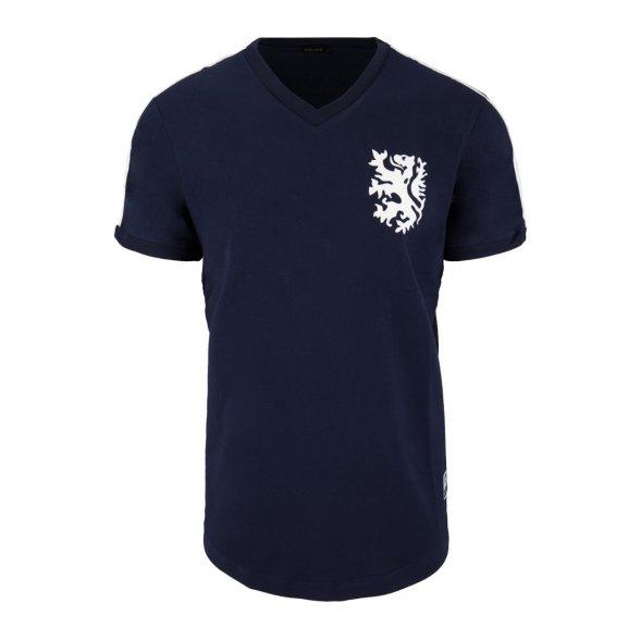 Tee Shirt Pays-Bas 1974   Bleu