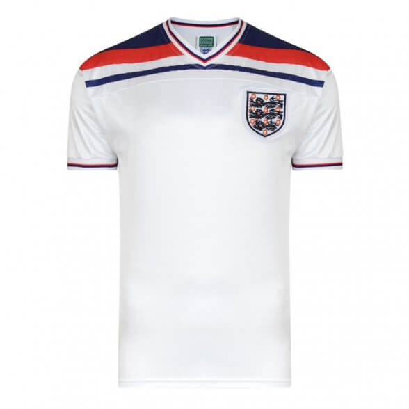 Maillot rétro Angleterre 1982