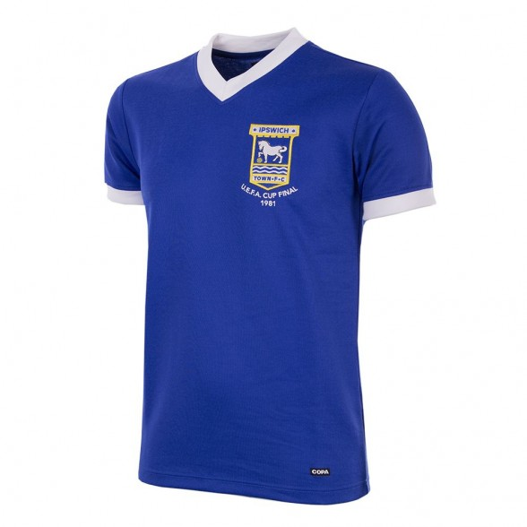 Maillot Ipswich Town 1980/81