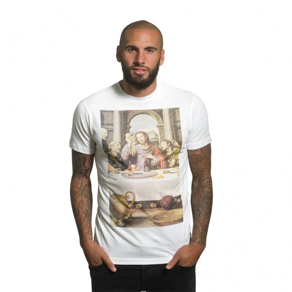 The Last Supper T-Shirt | White