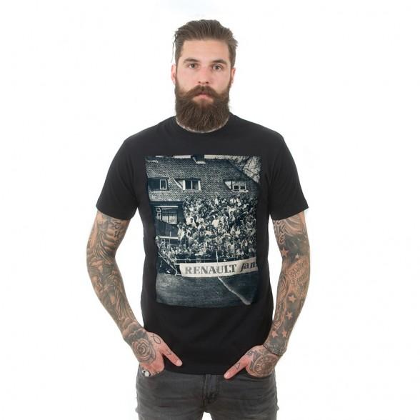 Terraces Photo T-Shirt | Black