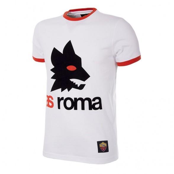 AS Roma Retro Logo T-Shirt