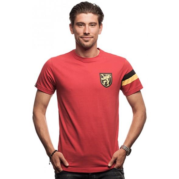 Belgium Captain T-Shirt // Red 100% cotton