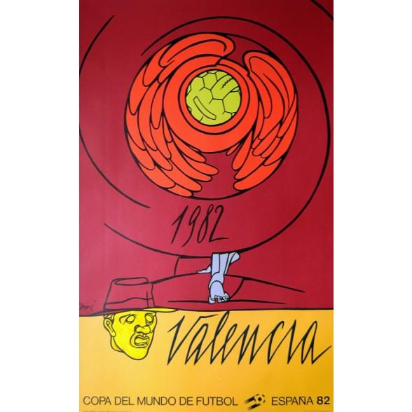 Cartel Oficial de Valencia - Alegoría de Adami