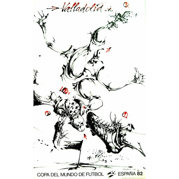 Cartel Oficial de Valladolid - Unas tijeras de Velickovic