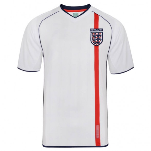Maillot rétro Angleterre 2002