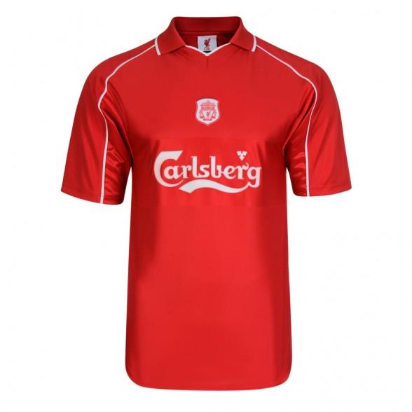 Maillot rétro Liverpool 2000