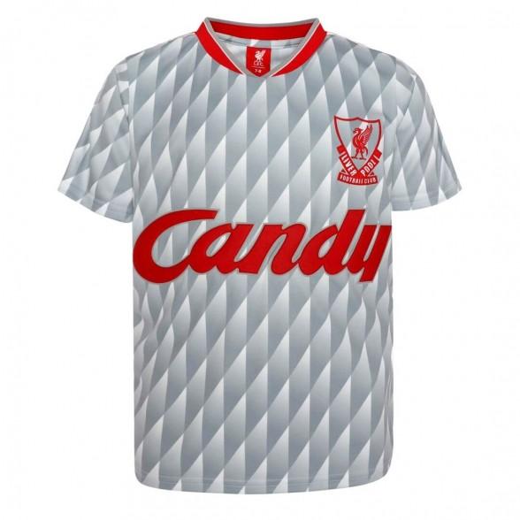 Maillot rétro Liverpool FC 1989-90 | Extérieur | Enfant