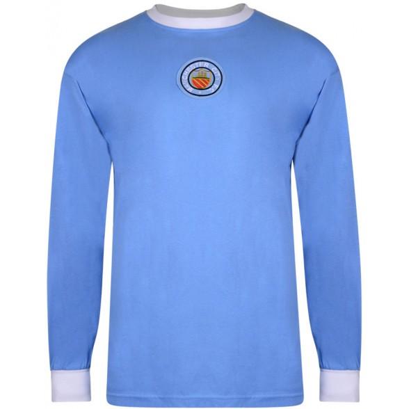 Maillot rétro Manchester City 1970 - Manche Longue