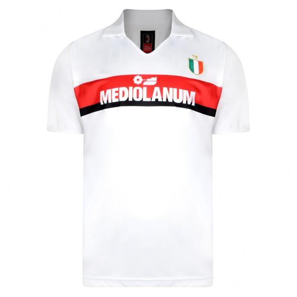 Maillot rétro AC Milan 1988/89 extérieur