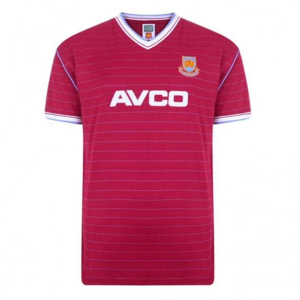 Maillot rétro West Ham 1985/86
