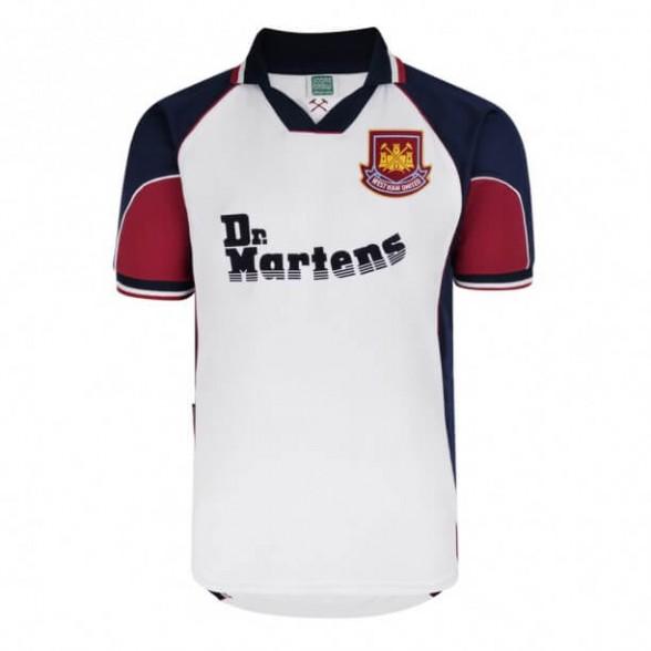 Maillot rétro West Ham 1998/99 Extérieur