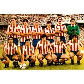 Atletico Madrid 1985-86 retro shirt