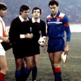 Maillot rétro Atletico Madrid 1985-86 Extérieur