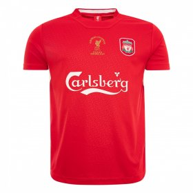 Maillot rétro Liverpool 2005