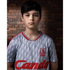 Camiseta retro Liverpool FC 1989-90 visitante niño