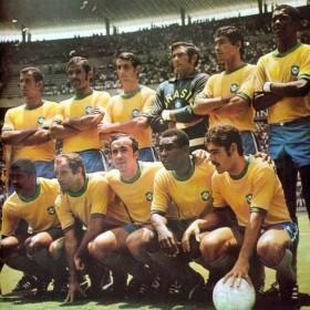 Maillot rétro Brésil 1970