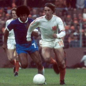 Maillot rétro Pays-Bas 1974 extérieur