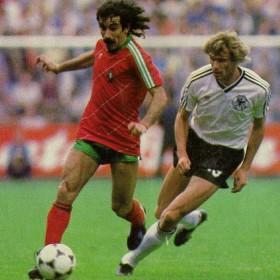 Maillot Rétro Portugal 1984