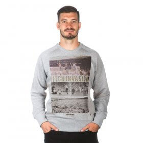 Pitch Invasion Sweater | Grey Melee