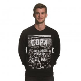 Invading Pitches Since 1998 Sweater | Black