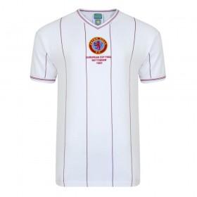 Maillot rétro Aston Villa 1982 Champions d'Europe