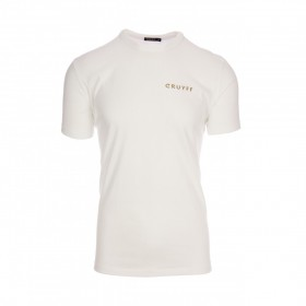 T-shirt Cruyff 14 Blanc / Or