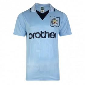 Maillot rétro Manchester City 1996