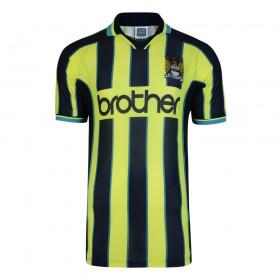 Maillot rétro Manchester City 1999 Wembley